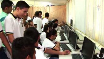 Escuela de Yucatán recibe 15 computadoras tras ganar concurso de Educacción