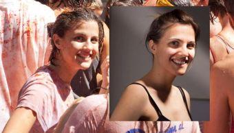 Una española encuentra a su misteriosa doble de la Tomatina