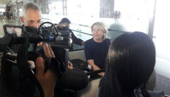 Exfiscal Luisa Ortega hace escala Panama su viaje Brasil
