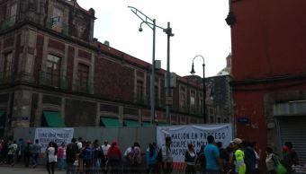 Inician filmación de película en el Centro Histórico de la CDMX