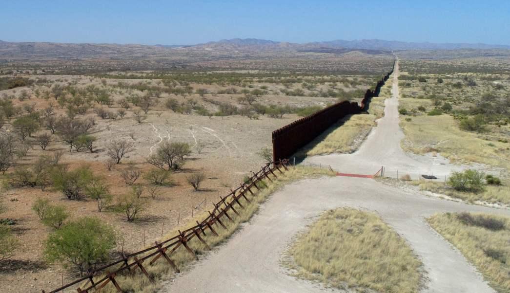 Frontera de Nogales, entre México y Estados Unidos