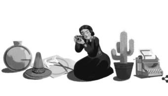 oogle recuerda a fotógrafa Tina Modotti a 121 años de su natalicio
