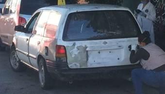 Hallan cuatro cuerpos dentro de un auto en Chilpancingo