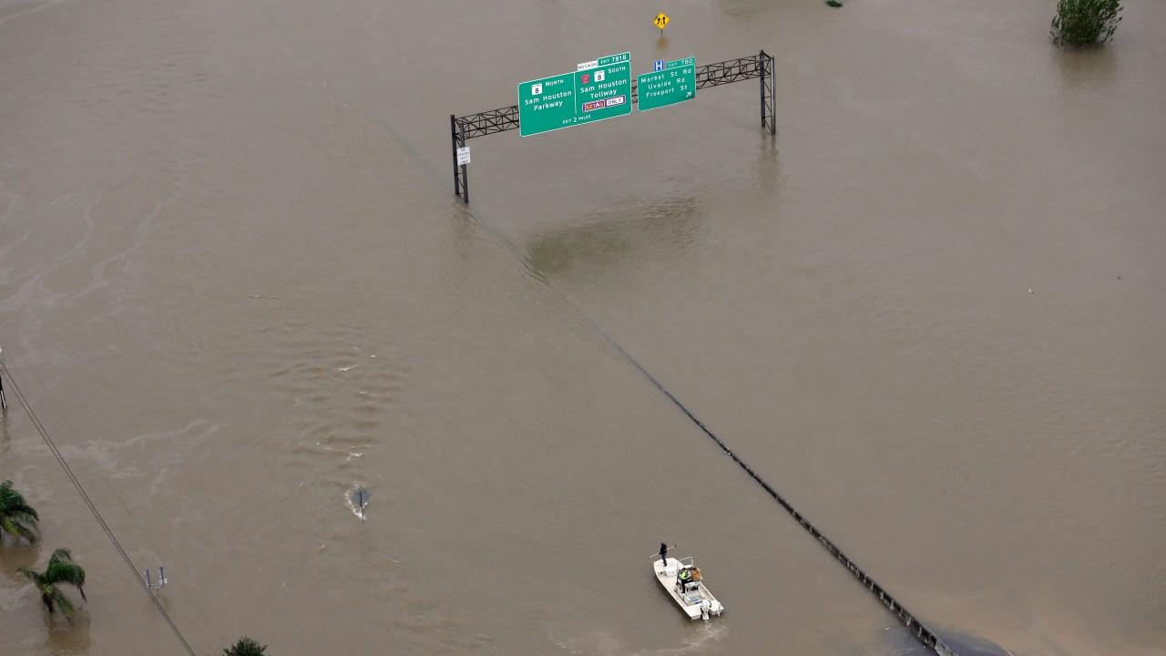 Daños ocasionados por 'Harvey' en Houston
