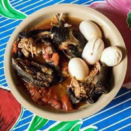 Platillo zapoteco que contiene huevo de tortuga golfina, en oaxaca