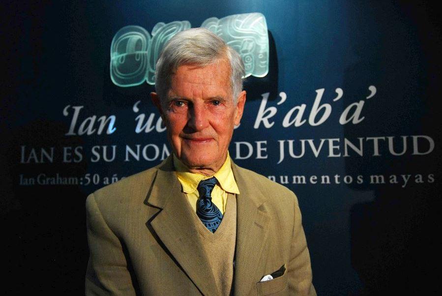 INAH lamenta muerte Ian Graham mayas