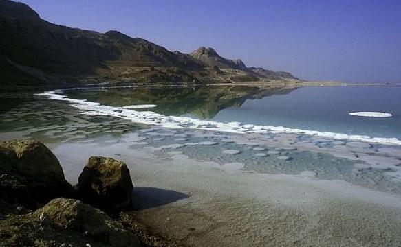 Pérdida de agua amenaza al Mar Muerto