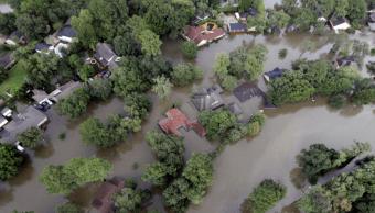 Inundaciones en Spring, Texas, tras el paso del huracán Harvey