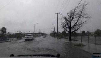 Sonora registra inundaciones por fuertes lluvias