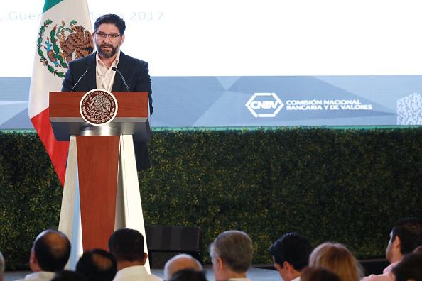 Jaime González Aguadé, titular de la CNBV