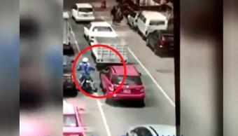 Conductor dispara contra motociclistas en la colonia Morelos CDMX