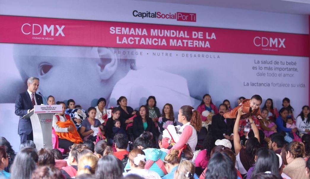 Bancos de leche materna en la CDMX