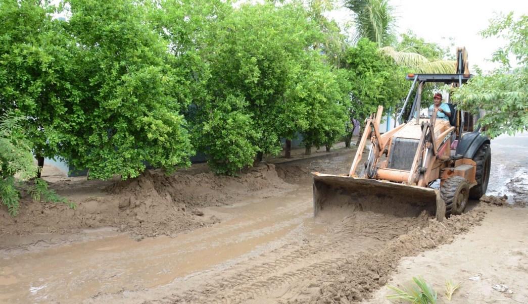 Limpian canales en Veracruz para evitar inundaciones Franklin