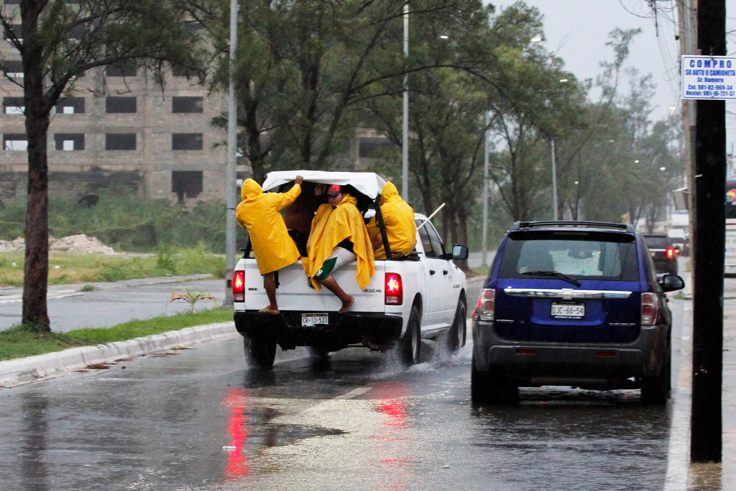 Franklin provoca lluvias e inundaciones en Campeche