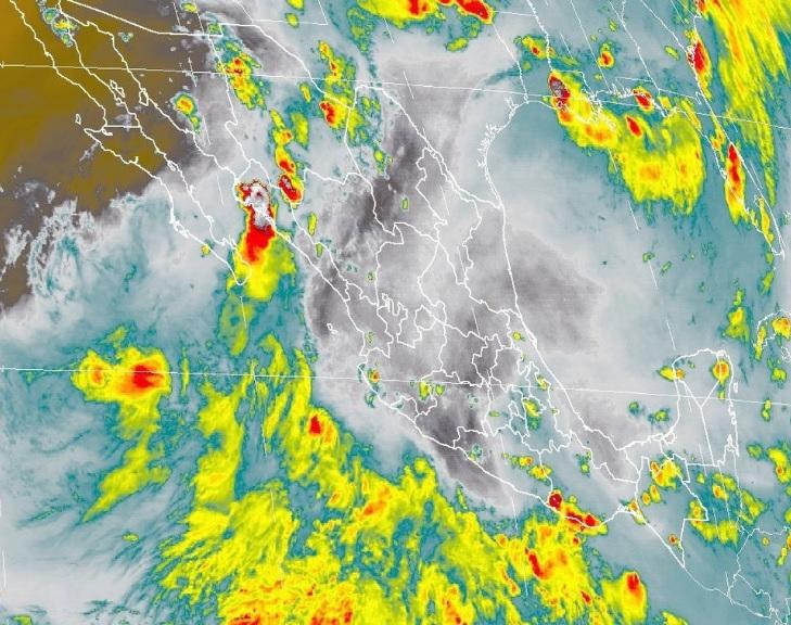 SMN pronostican lluvias por onda tropical 25