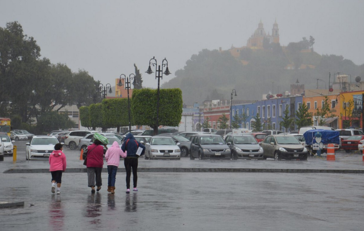 Lluvias por Franklin rompen récords históricos en Puebla