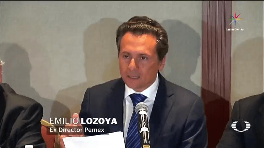 Lozoya niega sobornos de petrolera Oderbrecht