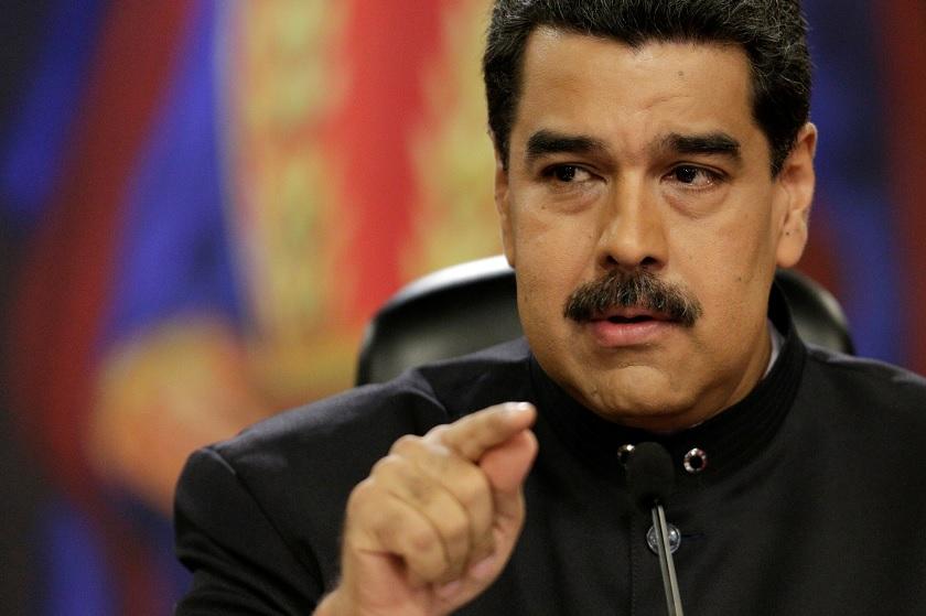 presidente venezuela nicolas maduro en caracas