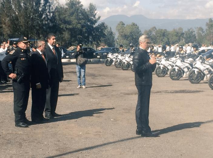 Miguel Ángel Mancera despliega a elementos de seguridad en Tláhuac