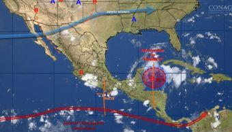 mapa del clima del 22 de agosto