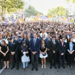 Barcelona realiza marcha contra el terrorismo