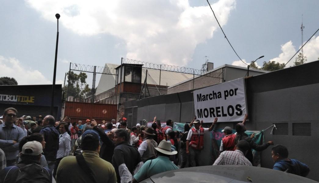Termina 'Marcha por Morelos' con acuerdos en Segob