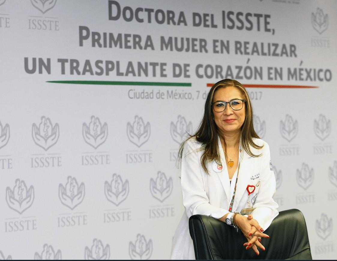 Primera en trasplantar corazón en México