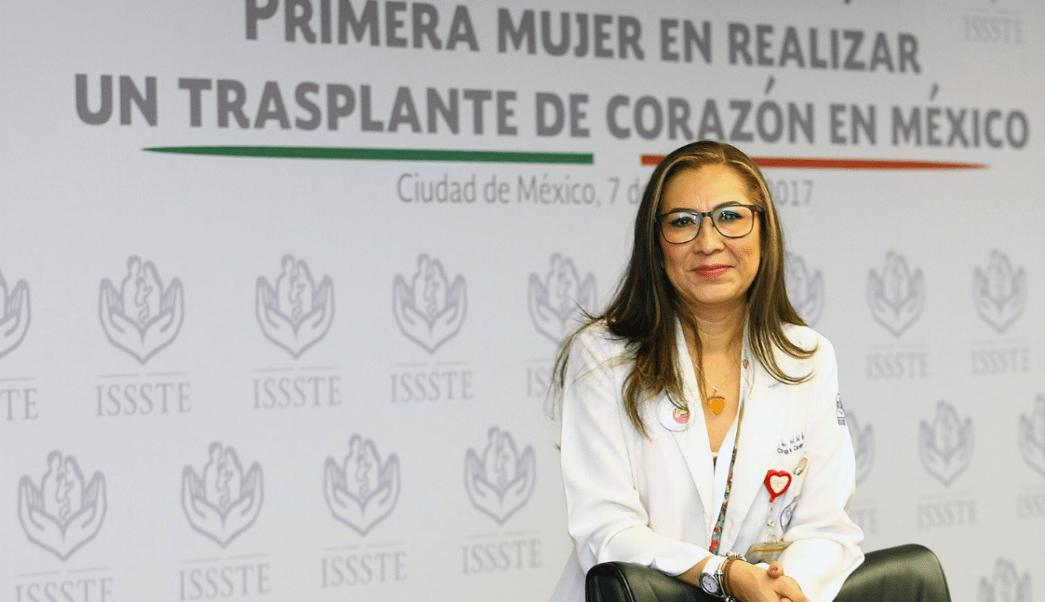 Primera mujer realizar trasplante corazón México