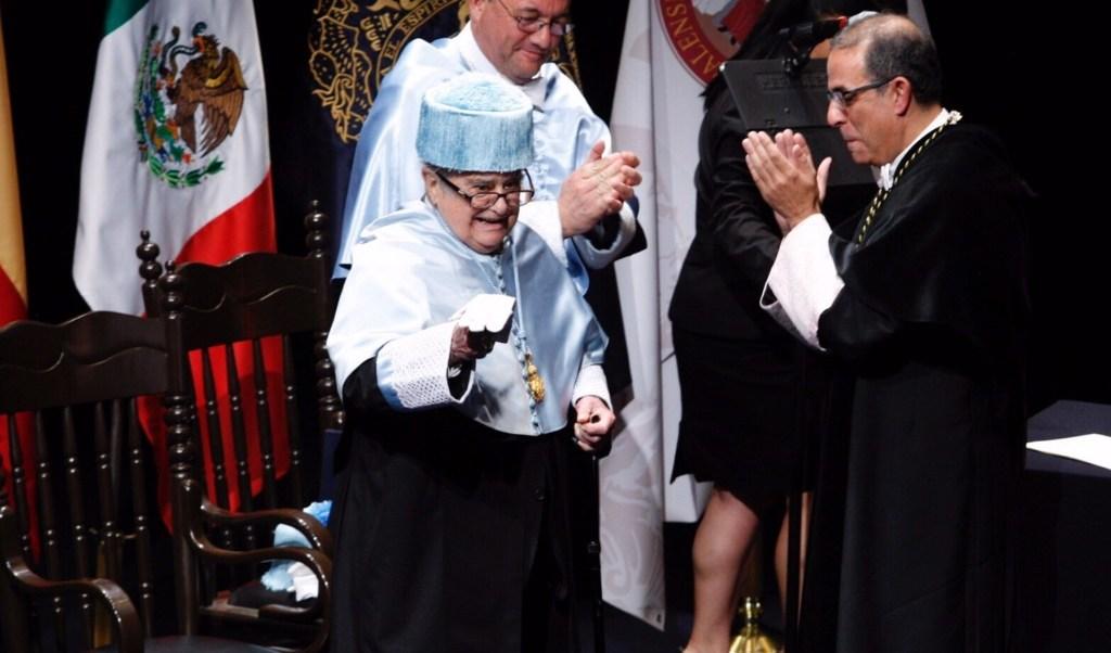 Miguel leon portilla recibe doctorado honoris causa universidad sevilla