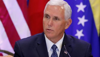 Pence asegura que Estados Unidos no descansara Venezuela