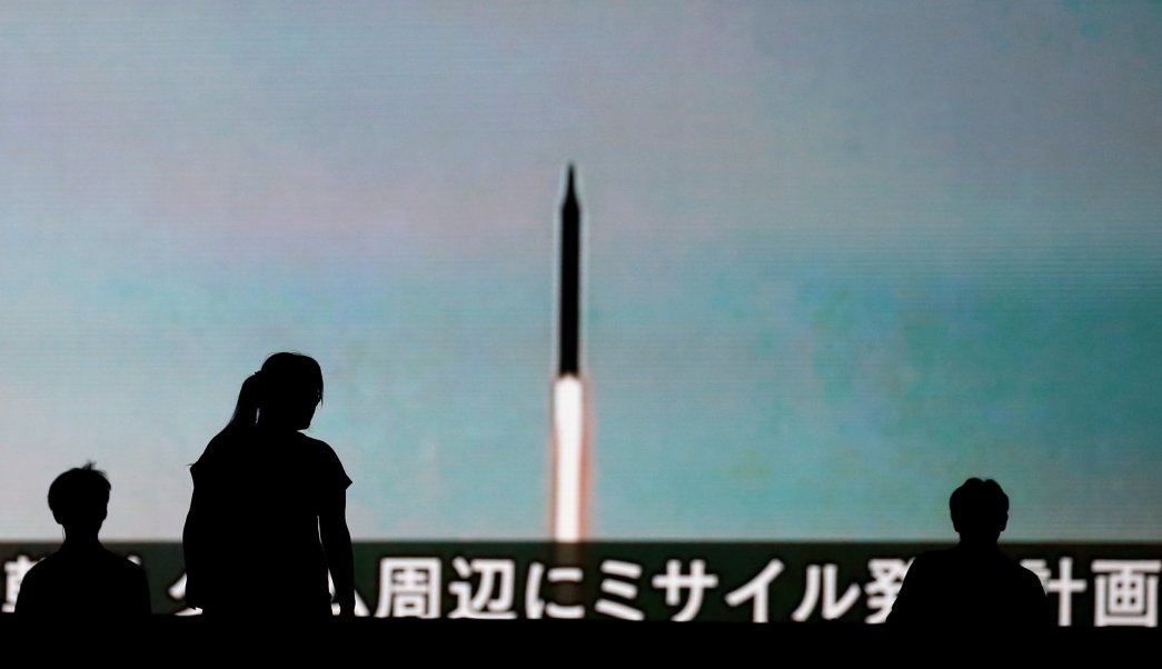 Norcorea dispara multiples proyectiles corto alcance Mar Japon