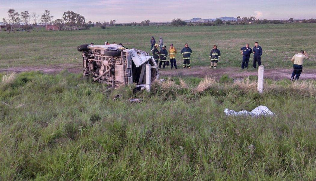 mueren cinco personas en accidente de aguascalientes