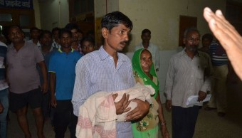 niños mueren hospital india fallas oxigeno