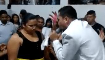 pastor mujer perdió 35 kilos en 6 minutos