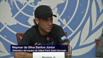 Neymar, convierte, embajador, pobreza