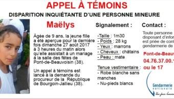 niña desaparecio durante una boda en francia