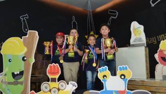 Niños campeones en Matemáticas por el Método Aloha