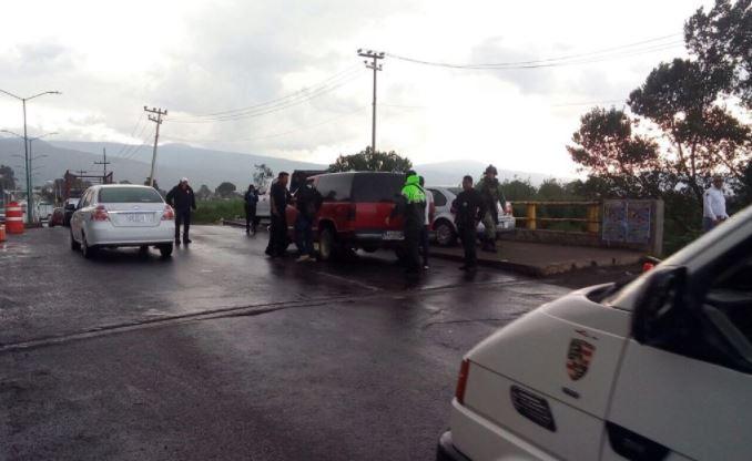 detienen delincuentes chalco valle seguridad