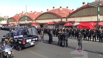 Operativo de seguridad en Tepito, CDMX