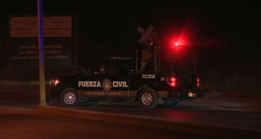Patrulla de Fuerza Civil Nuevo León ubica a secuestradores