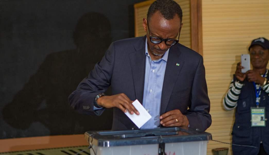 Paul Kagame fue reelecto presidente de Ruanda