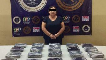 detienen mujer tijuana baja california cartel