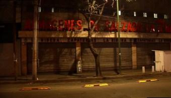 dos presuntos ladrones intentan robar zapateria