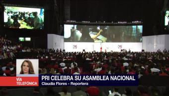PRI Celebra Asamblea Nacional Enrique Peña Nieto