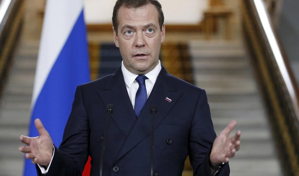 primer ministro rusia dmitry medvedev