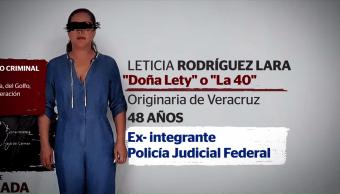 ¿Quién es Leticia Rodríguez Lara, alias, Doña Lety?
