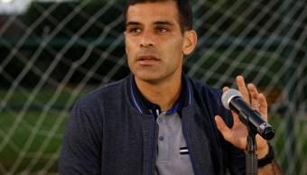 Rafael Márquez, capitán de la Selección Nacional de Futbol