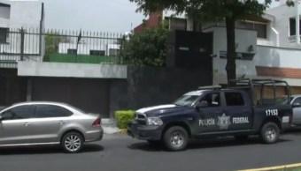 Policias federales realizan cateo en coyoacan