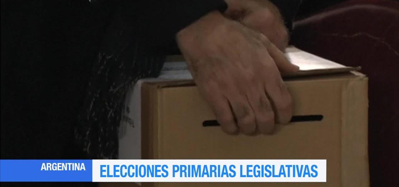 Realizan Elecciones Primarias Legislativas Argentina
