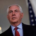 Tillerson agradece ayuda generosa de México tras paso de Harvey